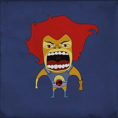 Lion-O is angry