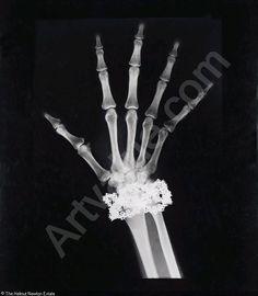 Helmut Newton - Van Cleef & Arpels Diamond Bracelet X-Ray, Paris sold by Christie's, London, on Wednesday, July 01, 2009