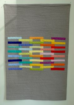 strip quilt posted by Modern Quilt Studio on Pinterest: https://www.pinterest.com/modquiltstudio/modern-quilts-illustrated/?lp=true