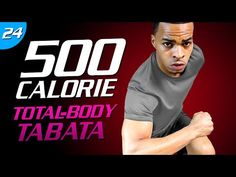 35 Min. Total Tabata Showdown | 500 Calorie HIIT MAX Day 24 - YouTube
