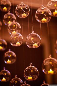 Hanging Glass Terrarium Candle Lights ❥❥❥ http://bestpickr.com/outdoor-pendant-lighting