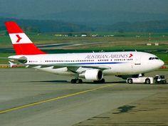 Austrian Airlines (Airbus A310-300) @zurich airport