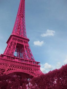 ♡♡♡ j'adore - Pink Eiffel Tower Tour Eiffel, Paris Love, Male Beauty, Fireworks, Pretty In Pink, Old Things, Wanderlust, Romance, Engagement Rings