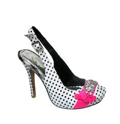 Naughty Monkey is always so fun!  These remind me of sassy Lucy Ricardo shoes