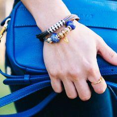 Matching the Blue Blue Sky // #MinskatIsobel #cobalt #blue #leather #minibag #minimalism #danishdesign