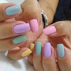 Fall Gel Nails, Summer Toe Nails, Homecoming Nails, Prom Nails, Toe Nail Color, Nail Colors, Nails And Beyond, Purple Nail Art, Different Color Nails