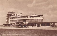 via · Postcard of from the late Dublin Airport, Art Deco Period, Dublin Ireland, Old Photos, Worlds Largest, Liverpool, Paths, Europe, History