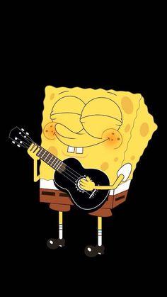New Spongebob Squarepants Wallpapers Wallpaper Spongebob, Cartoon Wallpaper Iphone, Mood Wallpaper, Cute Disney Wallpaper, Cute Wallpaper Backgrounds, Tumblr Wallpaper, Cute Cartoon Wallpapers, Cellphone Wallpaper, Black Wallpaper
