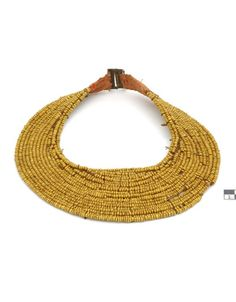 Indonesia | Beaded necklace from Nias.