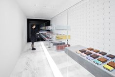 BbyB. Chocolate Shop by Nendo