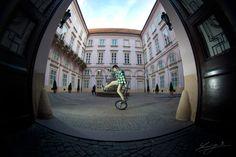 Bratislava - Downtown ridin by Lukáš Smiešny, via Behance