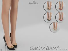 The Sims 4 Madlen Giovanni Shoes The Sims 4 Pc, Sims 2, Sims 4 Mm Cc, Sims Four, Sims 4 Cas, Sims 4 Mods Clothes, Sims 4 Clothing, Teens Clothes, Sims 4 Stories