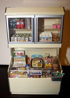 Freezer display