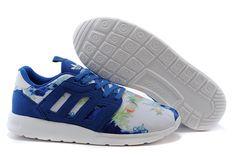 Adidas ZX 500 Farm 2.0 Womens Casual Training shoes M21254 W Collegiate Royal White Farm Floral