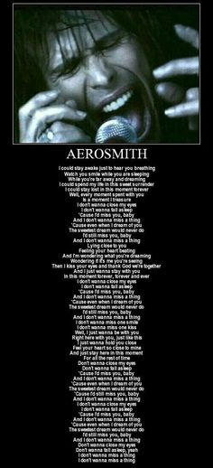 AEROSMITH Awesome group real musicians forever and from a special place in my heart Boston Great Song Lyrics, Song Lyric Quotes, Songs To Sing, Music Quotes, Music Lyrics, Music Songs, Aerosmith Lyrics, Beautiful Love Songs Lyrics, Romantic Song Lyrics