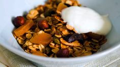 Lag din egen granola - Vektklubb Granola, Choices, Cereal, Drinks, Breakfast, Food, Drinking, Morning Coffee, Beverages