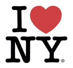milton glaser's iconic i love ny. i love ny, too. (august 2013)