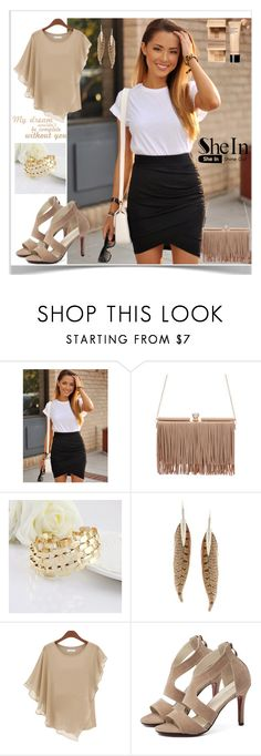 """2 SheIn"" by kiveric-damira ❤ liked on Polyvore featuring Roberto Cavalli"