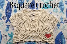 Ravelry: Lacey Girls Shrug pattern by Brittany Bentley