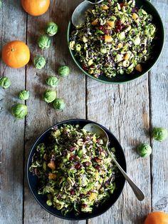Rosenkålsalat med quinoa og klementiner