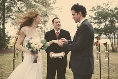 Fairytale Fall DIY Wedding: S'mores, Lace and Flower Crowns - Bridal Musings Wedding Blog