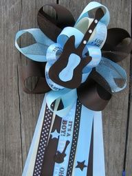 boys rock baby shower - Google Search