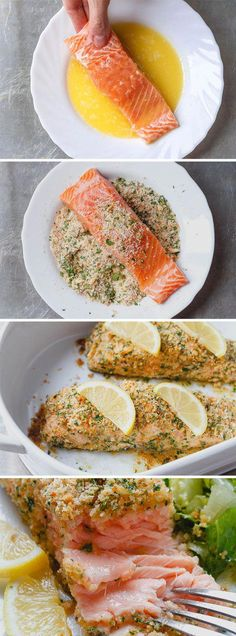 Parmesan Crusted Salmon Baked Parmesan Crusted Salmon — Need dinner STAT? This salmon is cheesy, moist and SO delicious.Baked Parmesan Crusted Salmon — Need dinner STAT? This salmon is cheesy, moist and SO delicious. Baked Salmon Recipes, Fish Recipes, Seafood Recipes, Healthy Recipes, Delicious Recipes, Dinner Recipes, Parmesan Crusted Salmon, Salmon Dinner, Gastronomia