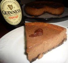 Guinness® Chocolate Cheesecake