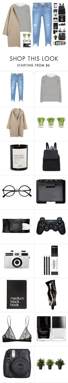 """A K D :("" by nut-and-nude ❤ liked on Polyvore featuring MANGO, NDI, Retrò, NARS Cosmetics, Kat Von D, Sony, Holga, Mark's Tokyo Edge, Dinks and Aesop"