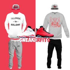 "What To Wear With The Air Jordan 6 ""Infrared"" - SneakerFits"