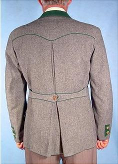 Loden Jacket: Back
