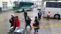 Police in Tornio, on the border with Sweden, say that numbers entering the country fell to 300 per day after remaining at around 400 per day during the week. But authorities are still struggling to register all new arrivals.