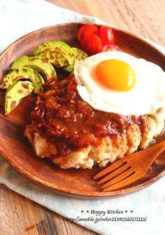 グレイビーソースでロコモコ風*鶏むね肉のハワイアンチキンソテー   たっきーママ オフィシャルブログ「たっきーママ@happy kitchen」Powered by Ameba