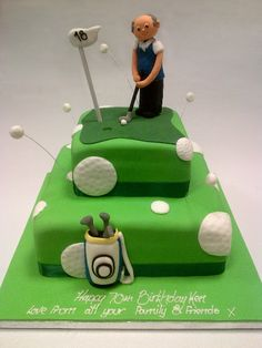 1000+ images about Golf cake - square on Pinterest Golf ...