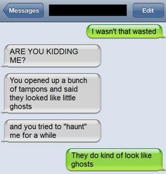 Tampon Ghost Text - https://www.facebook.com/diplyofficial