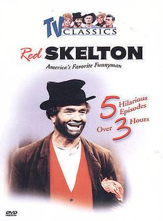 TV Classics Red Skelton DVD 2003 NEW SEALED #RedSkeltonShow