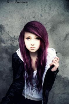 This is what I want my hair to basically look like.