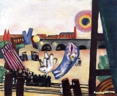 Chinese Fireworks, Small Dream Artwork by Max Beckmann Hand-painted and Art Prints on canvas for sale,you can custom the size and frame