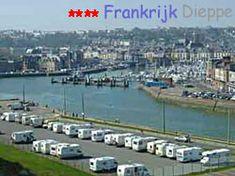 Dieppe Frankrijk camperplaatsen