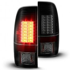 SPYDER AUTO 2008-2016 F250 F350 Super Duty G2 LED Tail Lights w/ LED Signal Function - Black Smoked | Ford F250 | Ford F350 | Ford