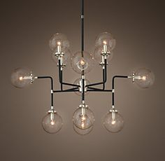 restoration hardware hardware and ceiling lighting on pinterest. Black Bedroom Furniture Sets. Home Design Ideas