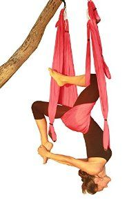 Wing Yoga Swing Inversion Sling. Inlcudes 2 Daisy Chain Adjustable Straps