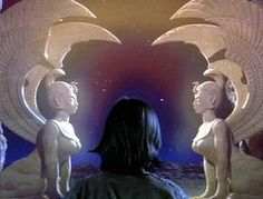 [IMG] The Southern Oracle, The Neverending Story. The origin for the winged sphinx is identified with Egypt, and with the fourth dynasty period. Pet Sematary, Neverending Story Movie, Portal, Story Tattoo, The Last Unicorn, Cinema, The Dark Crystal, Fantasy Movies, Fantasy Romance