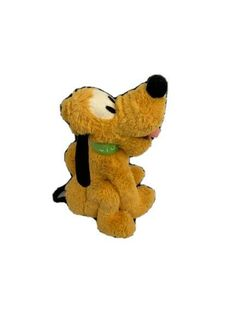 "Disney Store Exclusive Stamped Pluto Plush Soft Toy Floppy Cuddly 10"" Seated  #DisneyStore Jellycat, Build A Bear, Plush, Teddy Bear, Stamp, Toys, Disney, Animals, Animales"