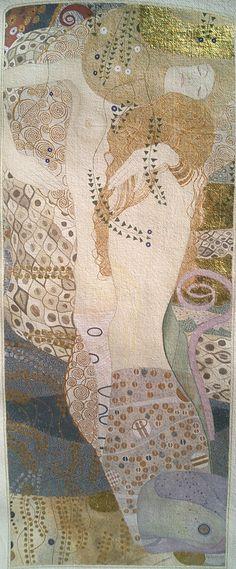 Gustav Klimt, Bisce d'acqua I, 1904-07