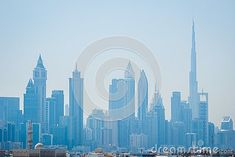 Photo about Dubai beautiful skyscrapers seen from a distance. Image of beautiful, architecture, dubai - 145508216 Skyscrapers, Free Stock Photos, Distance, Dubai, Skyline, Architecture, Illustration, Image, Beautiful