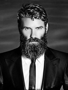 hair and beard styles If you want to take your beard growth to the next level then our Extra Strength Beard Growth Kit will give you the growing power you need. Included is a varie Beard And Mustache Styles, Beard No Mustache, Moustache, Long Beard Styles, Hair And Beard Styles, Great Beards, Awesome Beards, Badass Beard, Sexy Beard