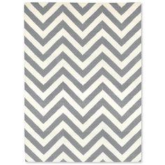 fab grey herringbone rug!