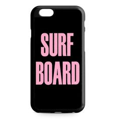 Surf Board Beyonce Inspired iPhone 4/4S/5/5S/5C/6/6S/6+/6S+ Heavy Duty Case