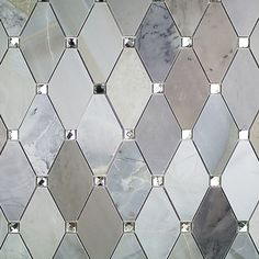Ivy Hill Tile Mirage Lozenge Moonstone in. x 8 mm Marble and Glass Wall Mosaic Tile Ivy Hill Tile Mirage Raute Mondstein 8 mm x mm x 8 mm Marmor- und Glaswandmosaikfliese-MIRLOZMOON – The Home Depot Bathroom Wall, Small Bathroom, Master Bathroom, Washroom, Bathroom Cabinets, Glass Installation, Mosaic Glass, Marble Mosaic, Glass Mosaic Tiles